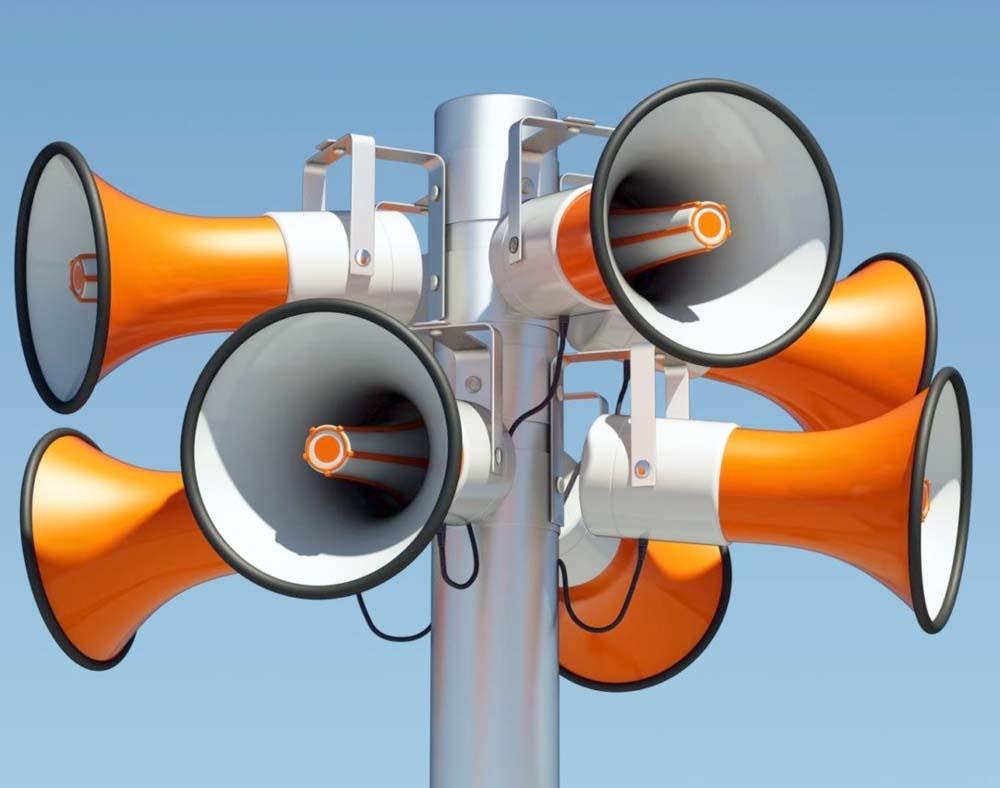 Системы экстренного речевого и звукового оповещения