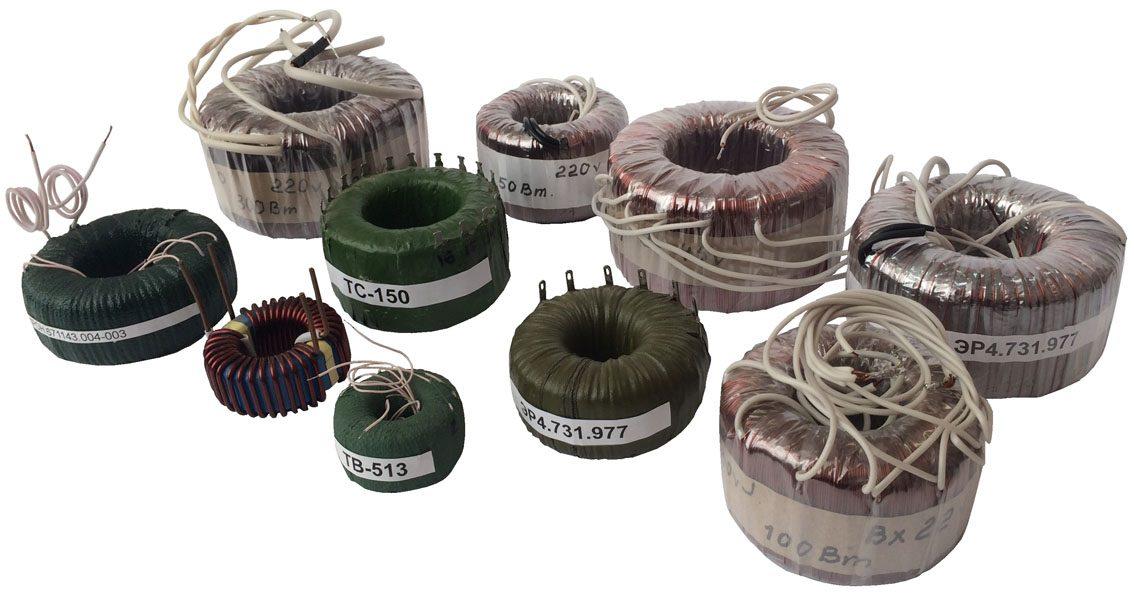 Силовые и звуковые трансформаторы, автотрансформаторы и дроссели